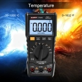 WinAPEX 6000 Counts Digital Multimeter Full Protection Mini DMM Multifunctional Handheld Multi Meter