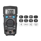 BSIDE Digital Multimeter 1999 Zählt Vollschutz Mini Voltmeter Amperemeter