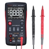 BSIDE Digital Multimeter True-RMS Touch-tone Handheld Multi Meter AC DC Voltmeter 9999 Counts with Analog Bar Graph and LCD Backlit NCV Temperature Test AC/DC Voltage Ammeter Current Ohm Resistance Capacitance Frequency Duty Cycle Diode Continuity Tester