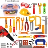 Kids Play Tool Set Toddlers Pretend Play Tool Kit Accessories Educational Toys for Children Gift
