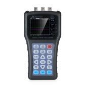 2-in-1 Oscilloscope & Function Signal Generator Dual Channel Oscilloscope Handheld Portable Digital Scope Meter Signal Generator 2CH Digital Storage Oscilloscope 50MHz 100MSa/s
