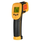 SMART SENSOR Mini Handheld Non-contact LCD Infrared Thermometer -32~550°C/-26~1022°F 12:1 Temperature Meter Digital IR Industrial Thermometer Data Hold Function (NOT for Humans)