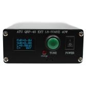 ATU QRP-40 MINI 7 * 7 Антенна Автоматический тюнер 0,96-дюймовый OLED-дисплей 1,8-55 МГц с крышкой готового типа