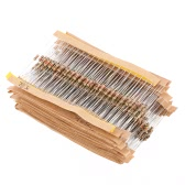 860pcs 1 ohm-1M ohm 1/4W Carbon Film Resistors Assortment Kit Set 43 Values Total Electronic Components