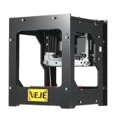 NEJE DK  -  8  -  FKZブランドの新しい1500mW高速ミニUSBレーザー彫刻家のカーバー自動DIY印刷彫刻機保護ガラスでオフライン操作
