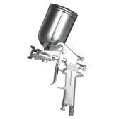 400ML Professional Gravity Feed Pistola a spruzzo Vernice spruzzatore aerografo Set in acciaio inox 1.5mm ugello Auto auto pittura per riparazione Spot Face Paint