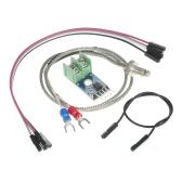 Módulo DC 5V MAX6675 0 ° C ~ 1024 ° C + Sonda de sensor de temperatura de termopar de tipo K para Arduino