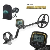 TIANXUN High Sensitivity Metal detector ad alte prestazioni MD3010II Metal detector sotterraneo Gold Digger Treasure Hunter Metal Finder Tesori Ricerca strumento + Auricolare