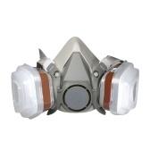 M6200 Противогаз Респираторный набор Маска Противопылевые фильтры Противопылевая противотуманная маска