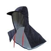 Denim Dust-Proof Shawl Cap Wear Resistance Anit-dirt Splash-Proof Work Mask Protective Cap Labor Supplies