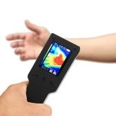 Appareil de mesure d'imagerie thermique imageur thermique infrarouge portatif de poche instrument de mesure de thermomètre d'affichage d'affichage à cristaux liquides de 2,4 pouces
