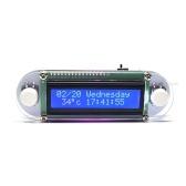 Эффект свечения LCD1602 Часы вибрации DIY Kit DIY Электронные цифровые часы DIY Clock Set Цифровые светодиодные электронные часы DIY Kit Set