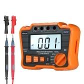 KKmoon Insulation Resistance Tester DCV ACV Meter 1000V Ground Megger Megohmmeter MegOhm Voltmeter w/LCD Backlight Display