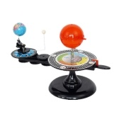 DIY Solar System Model Globe Earth S-un Moon Orbital Planetarium Educational Teaching Tool