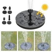 Watering Solar Power Fountain Pool Floating Water Pump Solar Panel Garden Plants Courtyard Scenery