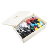 PP Chemistry Molecular Model Kit Organic and Inorganic Modeling Set Science Teaching Learning Aids for Teacher Students