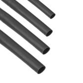 KKmoon 4шт 1-метровая термоусадочная трубка 3 мм 4 мм 5 мм 6 мм диаметр и длина 1 м