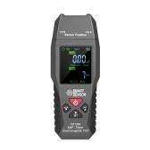 SMART SENSOR ST1393 EMF Meter Détecteur de champ électromagnétique EMF Mini testeur de rayonnement de champ électromagnétique LCD numérique portable