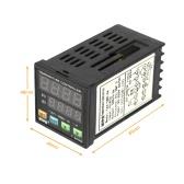 Digital Inteligente LED PID Controlador de Temperatura Termômetro bobina de aquecimento Aquecimento Refrigeração Controle TC / RTD Input SCR Saída de Alarme 1 Relé