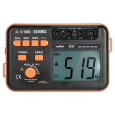 RuoShui 60B+ 1000V Insulation Resistance Meter Ground Tester Megohmmeter Voltmeter w/LCD Backlight Display