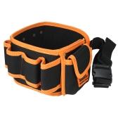 JAKEMY JM-B04 Многофункциональная сумка для инструментов для талии с карманами Pouch Organizer для инструментов для ремонта электриков-плотников