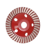 "125mm 5"" Diamond Segment Grinding Wheel Disc Bowl Shape Grinder Cup 22mm Inner Hole for Concrete Granite Masonry Stone Ceramics Terrazzo Marble Building Industry"