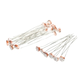 20pcs Photoresistor GL5537 5mm LDR Resistores fotográficos Light Dependent Resistor