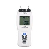 2Pinsデジタル木質水分計水分計湿度測定ツールテスター木材ダンプ検出器湿度計LCDディスプレイ