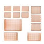 電子DIYプロジェクトのための12pcsプロトタイプPCBボードブレッドボードユニバーサルプリント回路基板キット