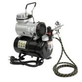 Compressore d'aria silenzioso oil-less professionale ad alta efficienza EU Pompa per legno ad alta pressione Compressore d'aria Compressore d'aria compressa
