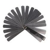 32本のステンレス鋼ブレードフィラーフィーラーゲージ0.02-1.0ミリメートル厚さゲージ多機能測定ツール