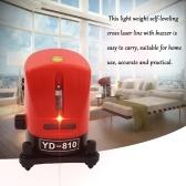 YD-810 Mini Portable 360 Degree Self-leveling Cross Laser Line