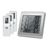 LCD Digital Wireless Indoor / Outdoor Thermometer Hygrometer