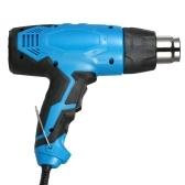2000 Watt High Power Heißluftpistole Hochwertige Handheld Temperaturgesteuerte Elektrische Heißluftpistole Dual Temperatur Einstellbar Heißluftpistole AC220V