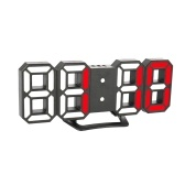 3D LED Digital Clock with Night Mode Adjust the Brightness