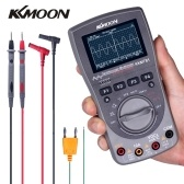 KKmoon Intelligent Digital Storage Scopemeter 2-in-1 Digital 40MHz 200Msps/S One Key Auto Oscilloscope OSC 6000 Counts True RMS Multimeter DMM AC/DC Voltage Current Resistance Capacitance Frequency Meter