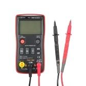 RICHMETERS RM408B Цифровой мультиметр True-RMS Кнопка 8000 отсчетов с аналоговой гистограммой Тест датчика температуры Напряжение переменного / постоянного тока Амперметр Ток Ом