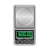 Портативные цифровые весы золотые ювелирные весы мини карманные цифровые весы профессиональные точные электронные весы точность баланса 600 г / 0,01 г DH-938C