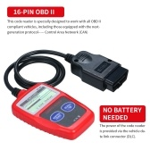 MS309 Universal O-B-D2 Scanner Automotive Engine Fault Reader CAN Diagnostic Scan Tool Work For US Asian European Cars