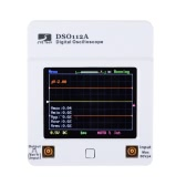 112A TFT Touch pantalla portátil Mini Digital osciloscopio DSO USB interfaz 2 5Msps MHz