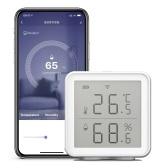 WiFi Smart Temperature Humidity Sensor Compatible with Alexa Google Assistant