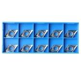 10шт серебряные лезвия DCGT11T304-AK H01 / DCGT32.51-AK H01 карбидные вставки, используемые для алюминиевого сплава