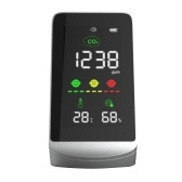 家庭用炭酸ガス検知器 CO2濃度 周囲温度・湿度テスター