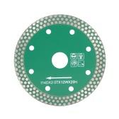 114 * 2.0 * 20mm secco taglio disco diamantato con 8 fori di raffreddamento 20 millimetri interno taglio della pietra di diametro e di macinazione per smerigliatrice di angolo architettonico Architetto Ingegneria