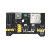3pcs MB102 Breadboard Módulo de Fonte de Alimentação 3.3V 5V para Arduino Pão