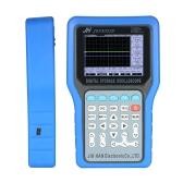 Osciloscopio multiusos portátil del almacenamiento 2 medios medidor del alcance 50MHz 500MSa / s con el generador de la señal