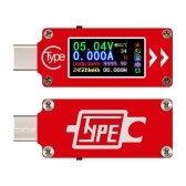 TC64 Type-C Color LCD Display USB Voltmeter Ammeter