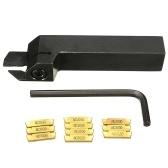MGEHR1616-2 Tornio CNC tornio + 10 pezzi MGMN200-G Inserti + chiave