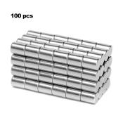 100 Pcs Mini Tamanho 3x4mm N50 Rare Earth Neodímio Magnety Forte-magnético para o Whiteboard Geladeira DIY Artesanato Ciência e Uso de Escritório