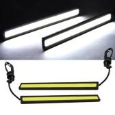 Luces LED de coche COB de 17 cm a prueba de agua 12V para DRL Lámpara de conducción de luz antiniebla brillante